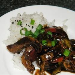 Japanese Beef Stir-Fry