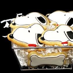 The Best Rolled Snoopy Cookies