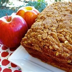 Sweet Moist Apple Bread
