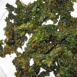 Kale Chips with Honey