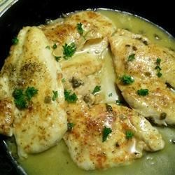 Quick Chicken Piccata