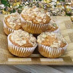 Pumpkin Streusel Muffins from mmmm food group on facebook