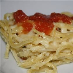 Photo of Simple Spaghetti Pie by jennyj2boys