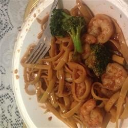Quick Shrimp Lo Mein