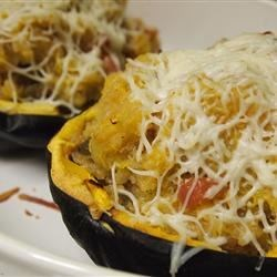 Gingery Quinoa-Stuffed Acorn Squash Recipe