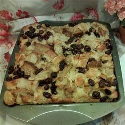 Photo of Spiced Cranberry Bread Pudding by Treasures of Food