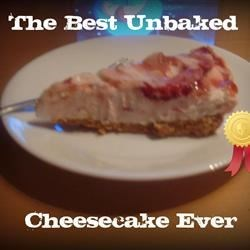 The Best Unbaked Cheesecake Ever!