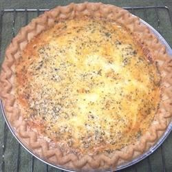 Donna's Cheesy Quiche Recipe