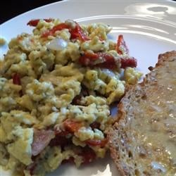 Photo of Scrambled Eggs with Sun-Dried Tomato by Christina Letts