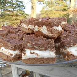 Deluxe Chocolate Marshmallow Bars Recipe