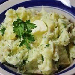 Skin-on Savory Mashed Potatoes