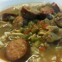 'Momma Made Em' Chicken and Sausage Gumbo Recipe