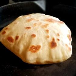 bazlama turkish flat bread printer friendly