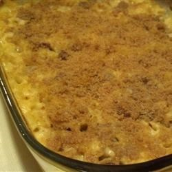 Macaroni and Cheese with Sausage and Pears Recipe