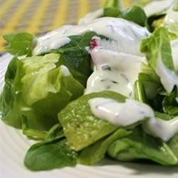 Buttermilk and Chive Salad Dressing Recipe