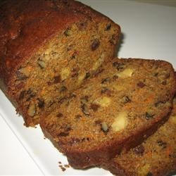 Mary Anne's Moist and Nutty Carrot Loaf Recipe
