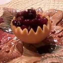 Fresh Sweet Cranberry Sauce with a Twist Recipe