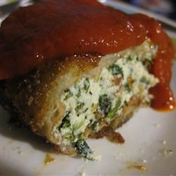 Stuffed Eggplant Parmesan Rolls Recipe