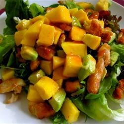 Chicken, Avocado and Mango Salad Recipe