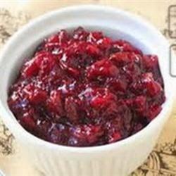 Tangerine Cherry Cranberry Sauce Recipe