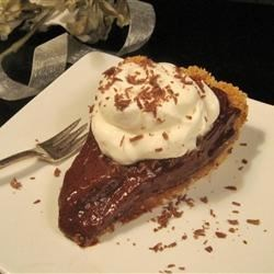 Chocolate Cream Pie using Grahm Cracker Crust I