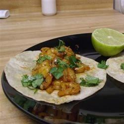 cilantro shrimp tacos photos