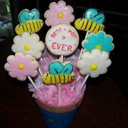 """Best Mom Ever"" Cookie Bouquet"