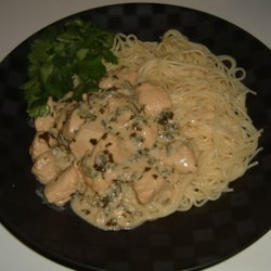Creamy Cilantro Chicken with a Kick Recipe