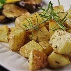 Healthier Oven Roasted Potatoes Recipe
