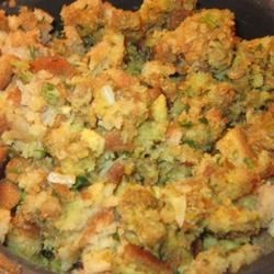 Moist and Savory Stuffing