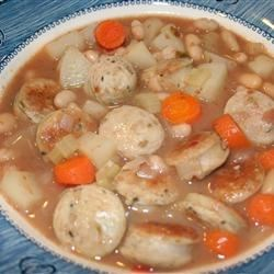 Sausage & White Bean Soup Recipe