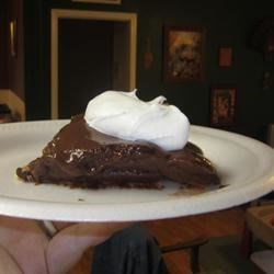 Photo of Graham Cracker Pudding Pie by K