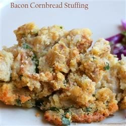 Bacon Cornbread Stuffing--not from AR