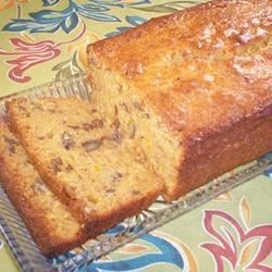 Pecan Sweet Potato Bread