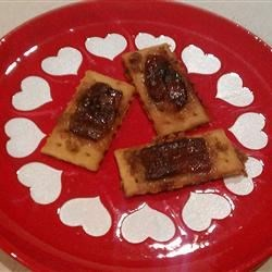Sweet Bacon Crackers Recipe