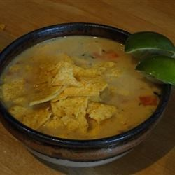 Jamaican Tortilla Soup Recipe