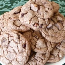 Chocolate Hazelnut Chip Cookies