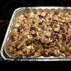 Sausage, Apple, and Cranberry Dressing Recipe