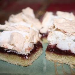 Photo of Grammie's Raspberry Meringue Cookie Bars by bucksswimmer