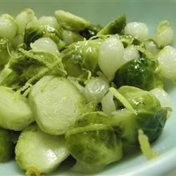 Honey Dijon Brussels Sprouts Recipe
