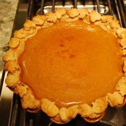 Chef John's Pumpkin Pie