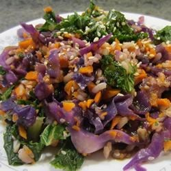 Whole Earth Kale Salad Recipe