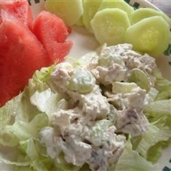 Chicken Salad with Apples, Grapes, and Walnuts Recipe