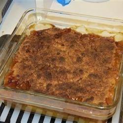 Healthier Southern Peach Cobbler Recipe