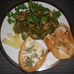 Photo of Gnocchi with Sweet Basil Pesto and Garlic Butter Shrimp by golddigge