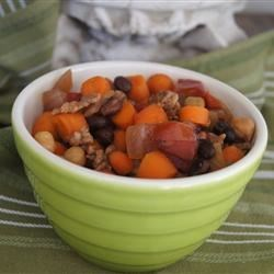 Sausage and Bean Slow Cooker Dinner Recipe