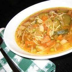 Old-Fashioned Vegetable Soup Recipe