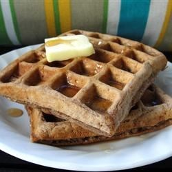 Photo of Carlie's Chocolate Oatmeal Waffles by sheerabell