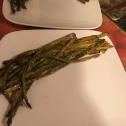 air fryer roasted asparagus printer friendly