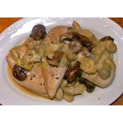 Romantic Chicken with Artichokes